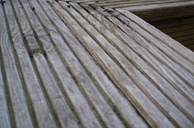 Decking cleaning West Lothian